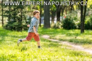Úrazové pojištění dětí - Chlapec utíkal azakopl jarmila mlýnková reference expert napojistky