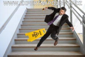 Úrazové pojištění dospělých - Pan pracovní úraz uklouzl na schodech jarmila mlýnková reference úraz